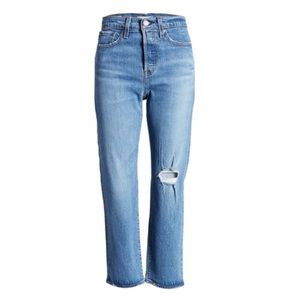 Levi's Wedgie NWT Straight Ankle Button Jeans 27